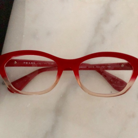 475d3f1c6ee5 AUTHENTIC PRADA READING GLASSES W BOX ❤ . M 5be9d6f2aa5719566c1635e1. Other  Accessories ...